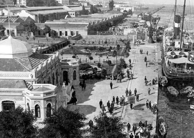 Galata Rihtimi, 1930'lu yillar