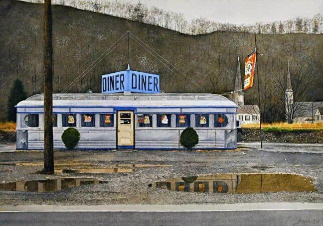 John Baeder, Jim's Diner