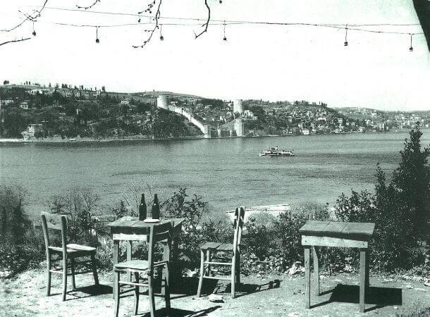 Kandilli Sevda Tepesinden Bogazici, 1958