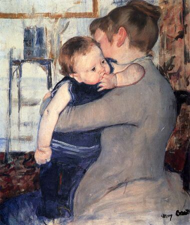 Mary Cassatt, Mother And Child, 1889