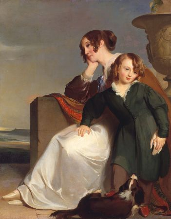 Thomas Sully, Mother and Son, 1840