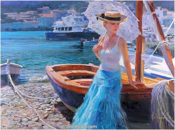 Vladimir Volegov, Afternoon In Cadaques