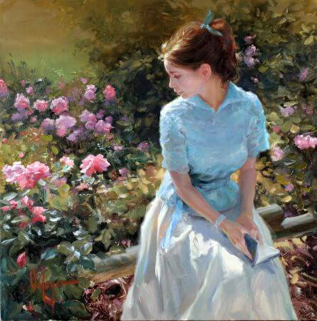 Vladimir Volegov, Girl Reading