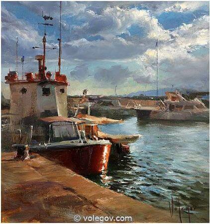 Vladimir Volegov, Port of Arenys de Mar