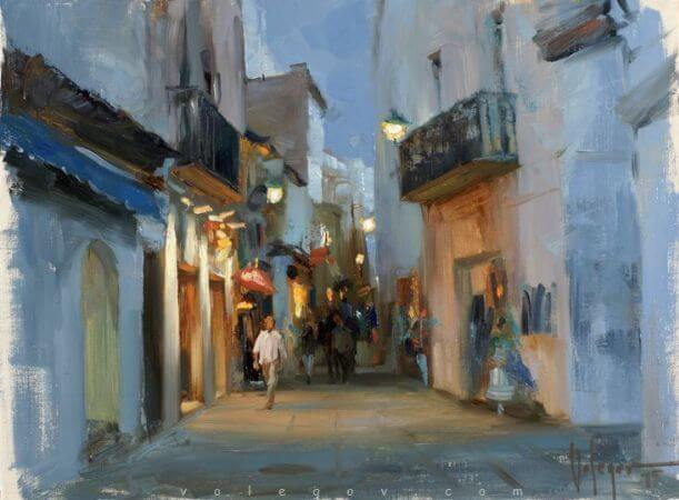 Vladimir Volegov, Twilight In Tossa De Mar