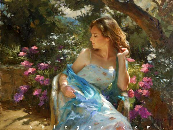 Vladimir Volegov, Warm Day On Terrace