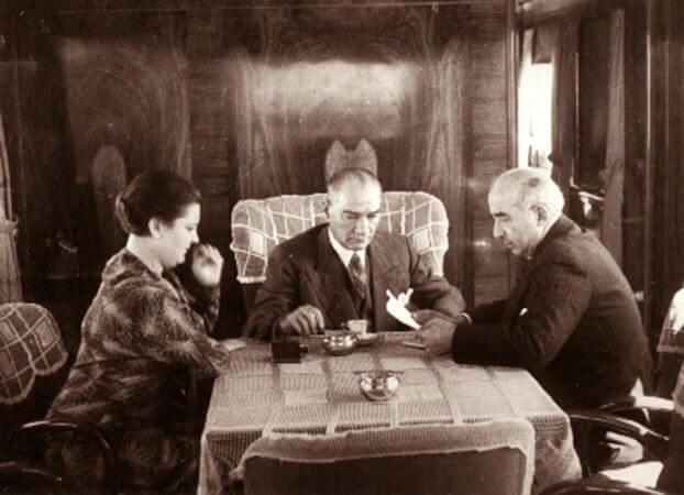 ataturk trende 1935