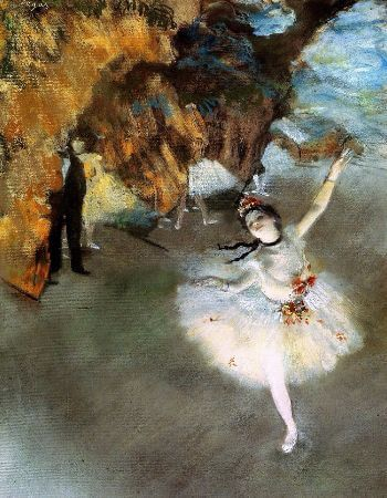 Edgar Degas, The Star, 1878