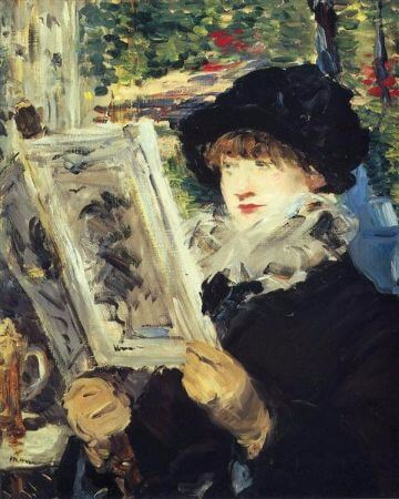 Edouard Manet, Woman Reading, 1879