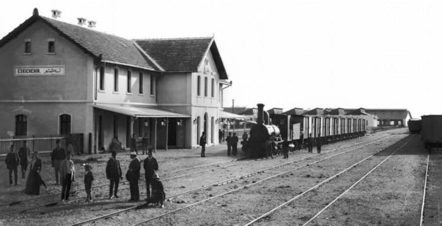 Eskisehir Gari, 1900