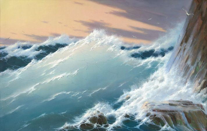 George Dmitriev, At Rocks