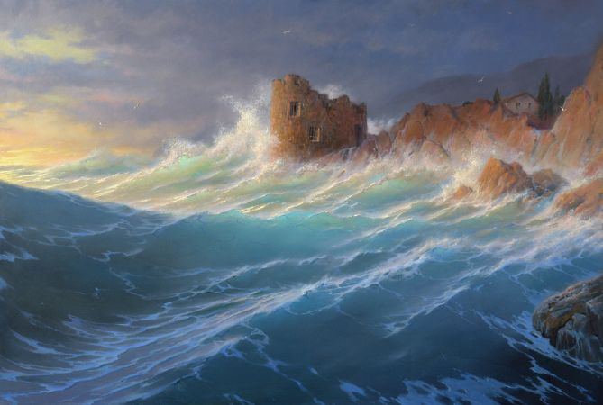 George Dmitriev, At Sunset
