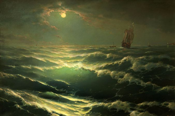 George Dmitriev, Moonlight On Sea
