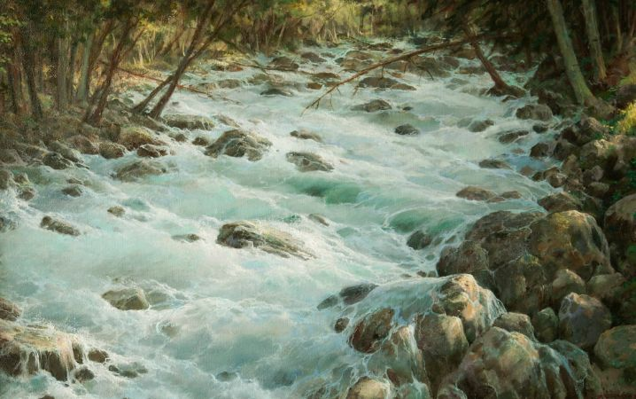 George Dmitriev, Mountain River Adir-Su