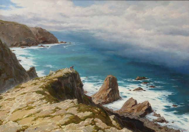 George Dmitriev, The Fog From The Ocean, Cabo Da Roca