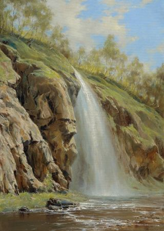 George Dmitriev, The Honey Waterfall In Spring
