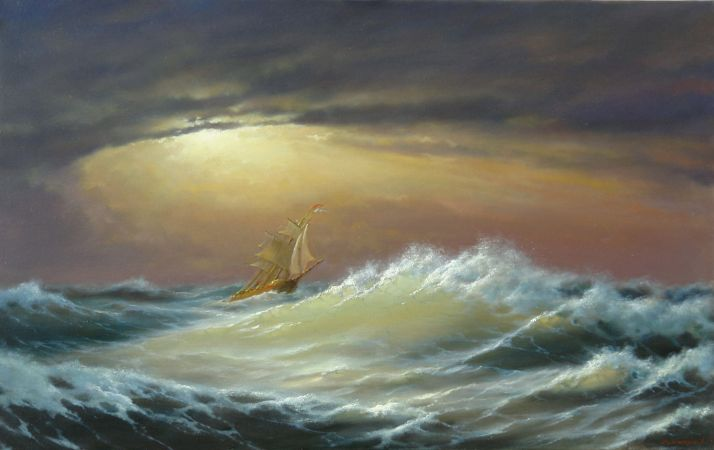 George Dmitriev, Through Clouds