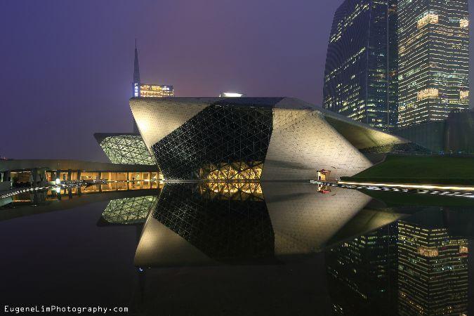 Guangzhou Opera Evi, Cin