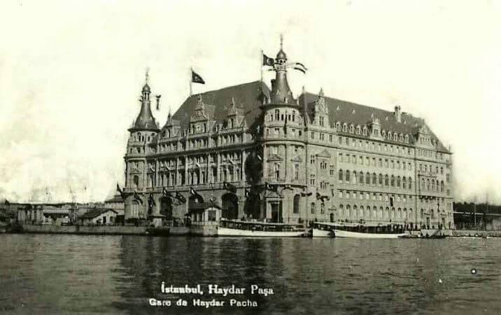 Haydarpasa Gari, 1910
