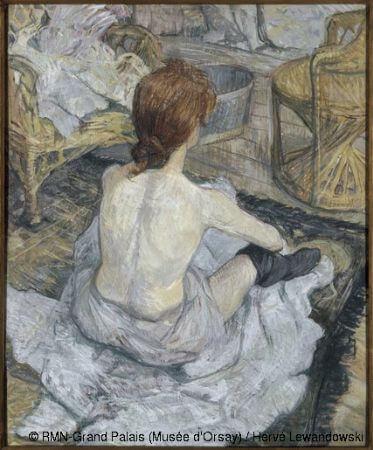 Henri de Toulouse-Lautrec, La Toilette, 1889