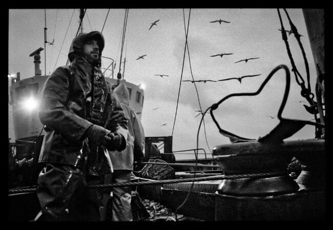 Jean Gaumy, İspanyol Trol Gemisi Rowanlea, 1992