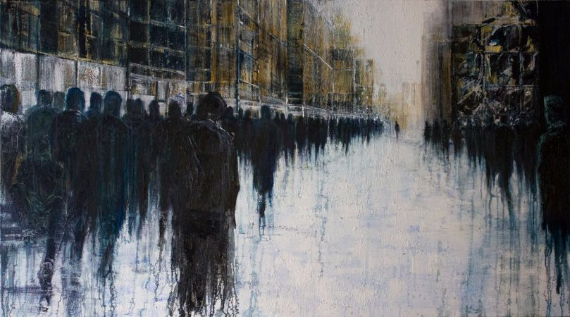 Lesley Oldaker, Crossing Over
