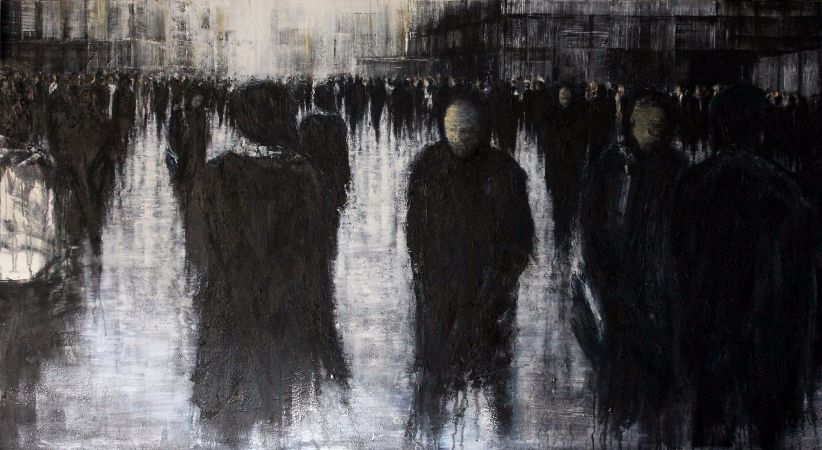 Lesley Oldaker, Crossing Paths