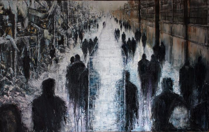 Lesley Oldaker, The Glass Wall