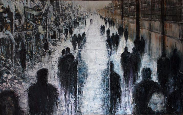 Lesley Oldaker, The Glass Wall