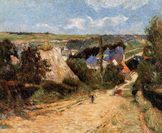 Paul Gauguin, Entrance to the Village of Osny, 1883
