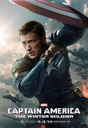 captain america the winter soldier, 2014