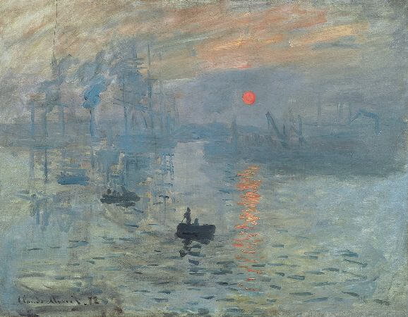 claude monet, izlenim gundogumu