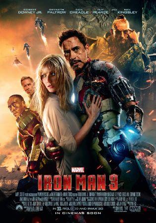 iron man 3, 2013