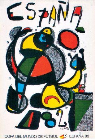 joan miro, 1982 dunya kupasi afisi