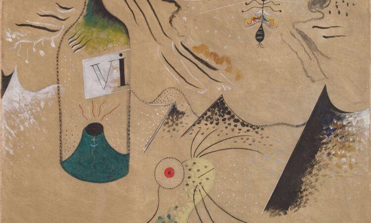 joan miro, L'ampolla de vi, 1924