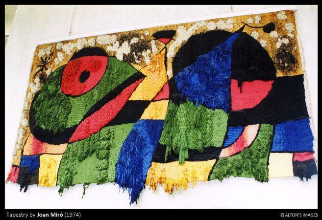 joan miro, Tapestry For The World Trade Center In New York City, 1974