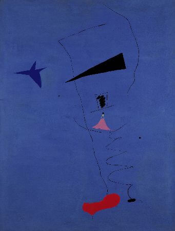 joan miro, blue star