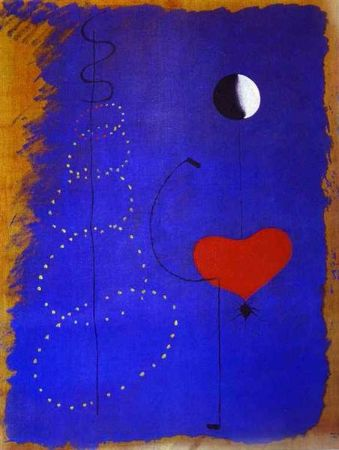 joan miro, dancer, 1925