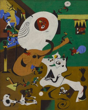joan miro, dutch interior I, 1928
