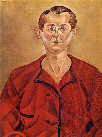 joan miro, selfportrait, 1919