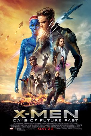 x-men days of future past, 2014