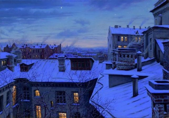 Alexei Butirskiy, Evening Glow