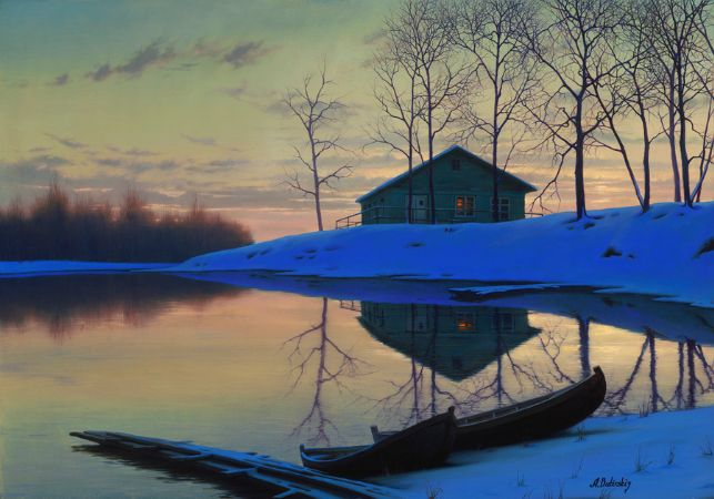 Alexei Butirskiy, Peaceful Sunset Ap