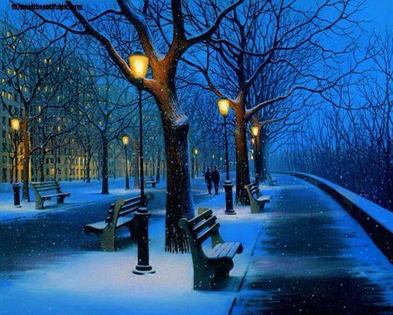 Alexei Butirskiy, Winter Stroll