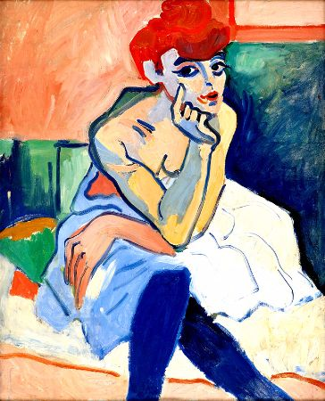 Andre Derain, The Dancer, 1906