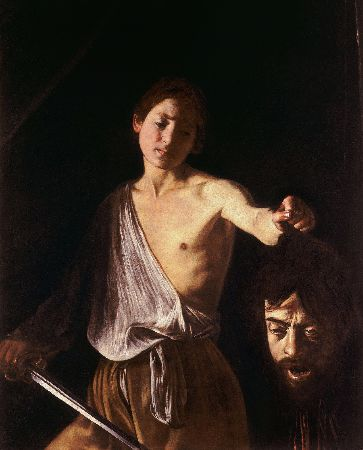 Caravaggio, David with the Head of Goliath, 1609-10