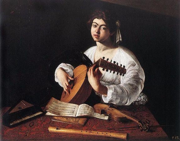 Caravaggio, Lute Player, 1596