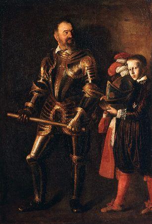 Caravaggio, Portrait Alof de Vignacourt, 1607-1608
