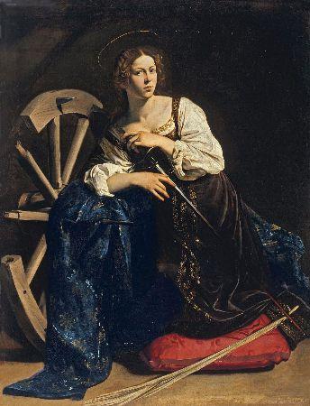 Caravaggio, Saint Catherine of Alexandria, 1598