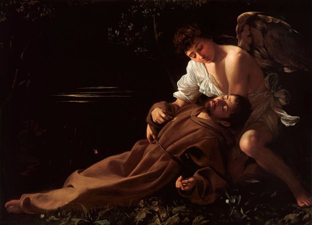 Caravaggio, Saint Francis of Assisi In Ecstasy, 1595